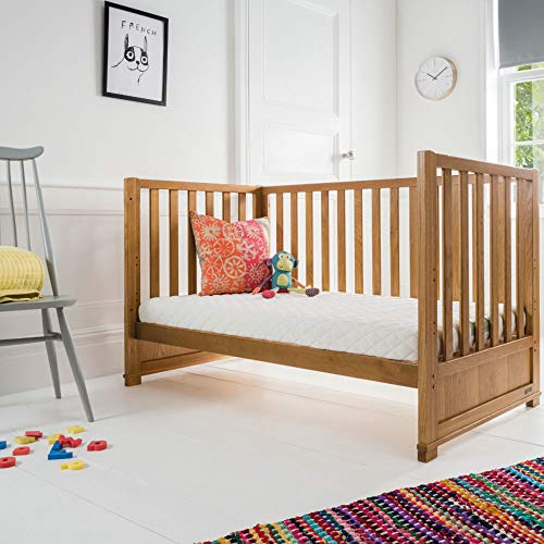 Silentnight Safe Nights Superior Cot / Toddler Mattress | 140 x 70 cm | Foam & Chemical Free | Mini Pocket Springs for Support | Natural Wool Fillings
