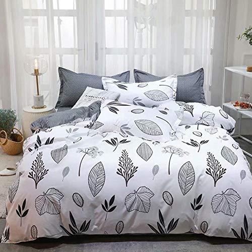 lhmlyl Matratze Dreiteiliger Bettbezug für Heimtextilien-Hawaii_230 x 230 (50 x 70 x...