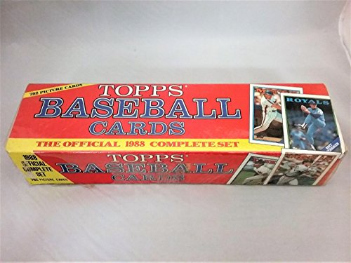 Topps 1988 Baseball Cards Factory Sealed Set