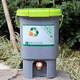 Contenitore Per Fermentazione Compost Fertilizzante Organico,Barile Sigillato Alta Capacità...
