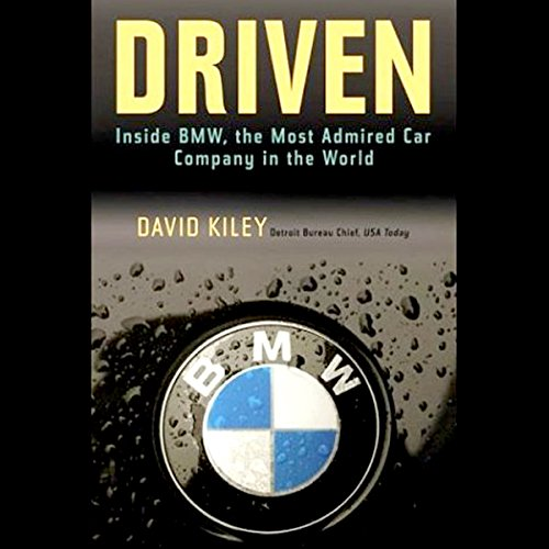 Driven audiobook cover art