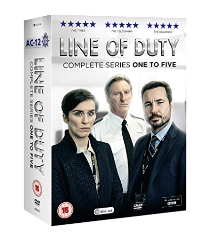 Line Of Duty Series 1-5 Boxed Set (10 Dvd) [Edizione: Regno Unito]