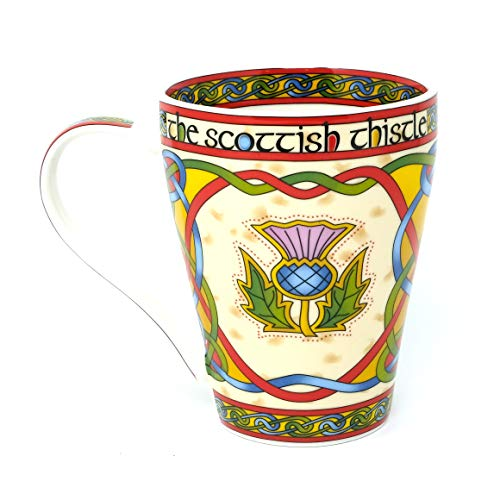 Royal Tara The Scottish Thistle Celtic Mug - Royal Tara Ireland