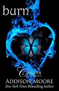 Burn (Celestra Series Book 3) by [Addison Moore]