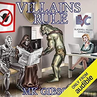 Villains Rule audiobook cover art