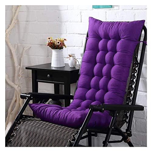 JBNJV Cojines para tumbonas, Cojines para Muebles de jardín - Funda de Asiento de Silla Relajante reclinable para Cama Acolchada Gruesa portátil para Viajes/Vacaciones/Interior/Exterior, VIO