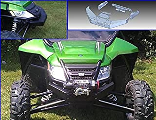 Extreme Metal Products Front Winch Mount Brushguard for 2012 Arctic Cat Wild Cat by EMP. 11711