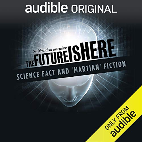Science Fact and 'Martian' Fiction audiobook cover art