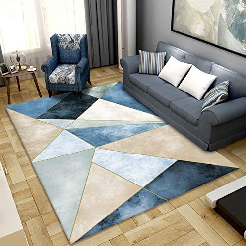 Creativo Portachiavi Decorativo Tappeto geometrico tappeto stampato per soggiorno camera da letto lavabile da camera da letto grandi tappeti da stampa moderna tappeto da pavimento per parlor mat Home