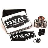 Neal Precision Skate Bearings / 3 Different Types - Ceramic - Swiss - Titanium / 608rs - Skateboard -...