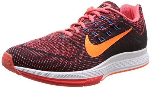 Nike Air Zoom Structure 18 Mens Bright Crimson/Total Orange/Black Running Sneakers (13)
