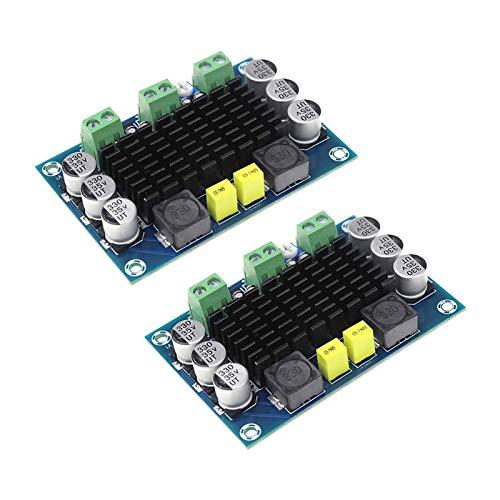 ZHITING 2 uds TPA3116 Placa amplificadora de Potencia de 100 W DC 12V 24V TPA3116DA Placa amplificadora de Audio estéreo Digital de Canal Mono Módulo AMP de Alta Potencia