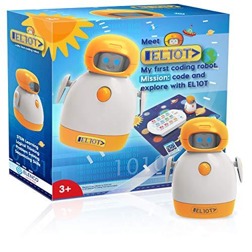Elenco Teach Tech EL10T: My First Coding Robot Only $46.19 (Retail $89.95)