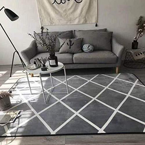 HIMFL Zuhause Design Teppiche Gummiunterseite Schützt Fußbodenteppich,A,45x115CM