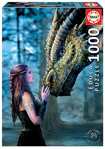 Educa Borras - Serie Anne Stokes, Puzzle 1.000 piezas Érase una vez