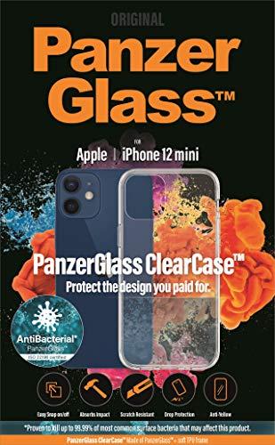 PANZERGLASS - Carcasa Transparente para Apple iPhone 12 Mini AB