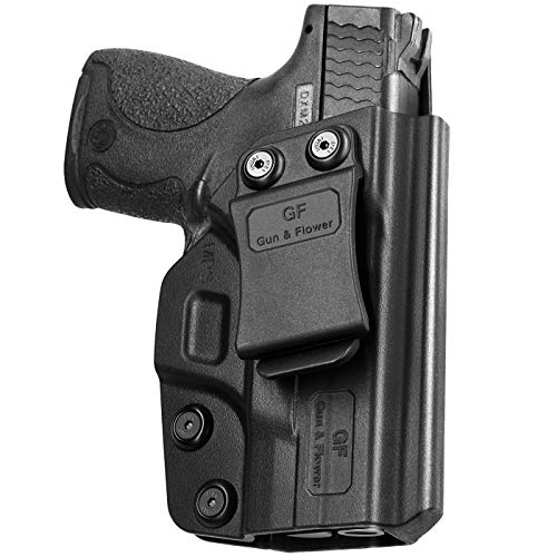 M&P Shield 9mm Holster, IWB Polymer Concealed Carry M&P Shield Holster for M&P Shield .40 3.1''   Smith and Wesson M&P Shield 9mm Accessories   Inside Waistband   Adj. Cant & Retention   Gun Holsters
