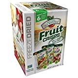 Brothers All Natural Freeze Dried Variety Fruit Crisps, 2.26 Ounce, 6 Count