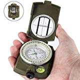 Best Lensatic Compasses - Eyeskey Multifunctional Military Lensatic Tactical Compass | Impact Review