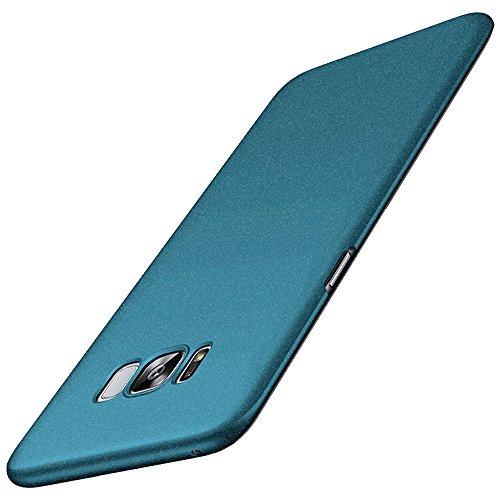 Anccer Funda para Samsung Galaxy S8 [Serie Colorida] [Ultra-Delgado] [Ligera] Anti-rasguños Estuche para Samsung S8 (Grava Verde)