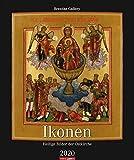 Ikonen: Heilige Bilder der Ostkirche. Wandkalender 2020. Monatskalendarium. Spiralbindung. Format 46 x 55 cm