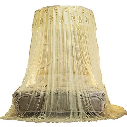 HAZYJT Mosquitero cama con toldo de hilo para jugar a la tienda de ropa de cama para niños y niñas