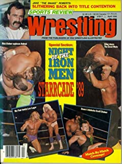 Sports Review Wrestling : Starrcade 89 - Night of the Iron Men (April 1990)