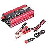 Duokon DC 12V / 24V à 220V AC 1500W Onduleur de voiture,Adaptateur de Chargeur USB...