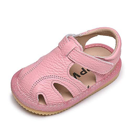 Sandalias Verano Bebé Ninas Zapatos Cuero Suave de Primeros Pasos Bebé Nina...