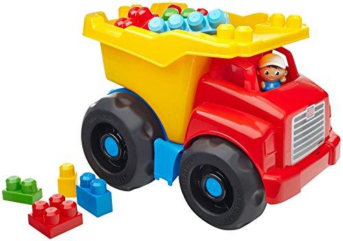 Megabloks - Camión 42 cm Con construcción, multicolor (601157) , color/modelo surtido