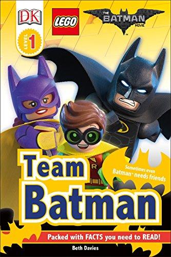 DK Readers L1: THE LEGO® BATMAN MOVIE Team Batman: Sometimes Even...