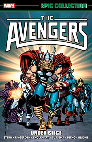 Avengers Epic Collection: Under Siege (Avengers (1963-1996)) (English Edition)