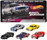 Hot Wheels Fast & Furious Bundle, 5 Premium Vehicles from Fast & Furious Movie Series
