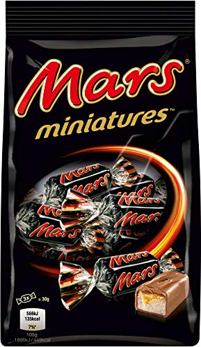 Mars Miniatures Chocolates
