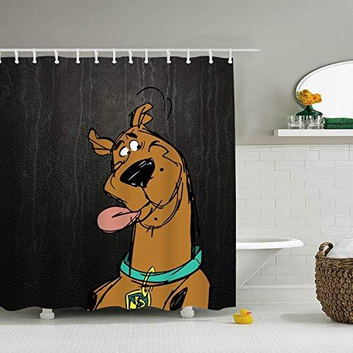 Ranhkdn Standard Printed Shower Curtain Scooby Doo Bath Curtain