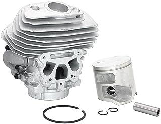 WHHHuan Kit de Piston de Cylindre 1set 46mm pour Jonsered CS2258 CS2260 CS2260WWWWC 575355805 575355802 575355806 57535580...
