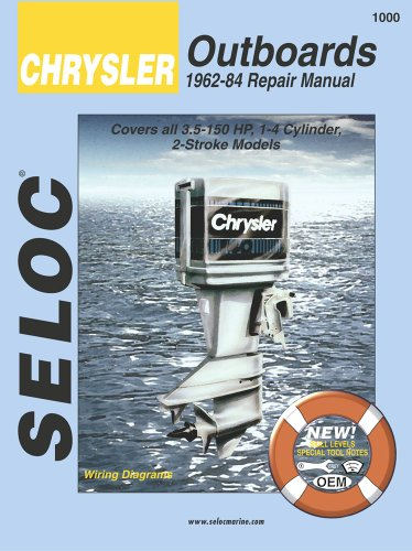CHRY OUTBOARDS ALL ENGINES 196 (Seloc Marine Tune-Up and Repair Manuals)