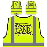 Descorchar Y Desenrollar Chaqueta de seguridad amarillo personalizado de alta visibilidad s424v