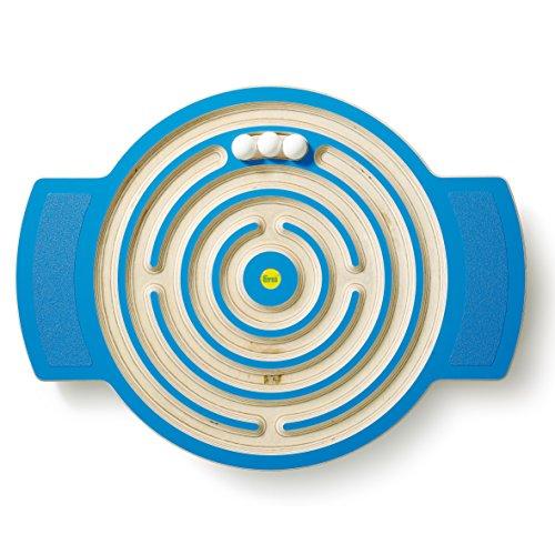 Erzi Trackboard Labyrinth - Balancespiel, Balancierbrett - kombiniert Spiel, Spaß und Bewegung - Ausgestattet mit rutschfesten Trittflächen