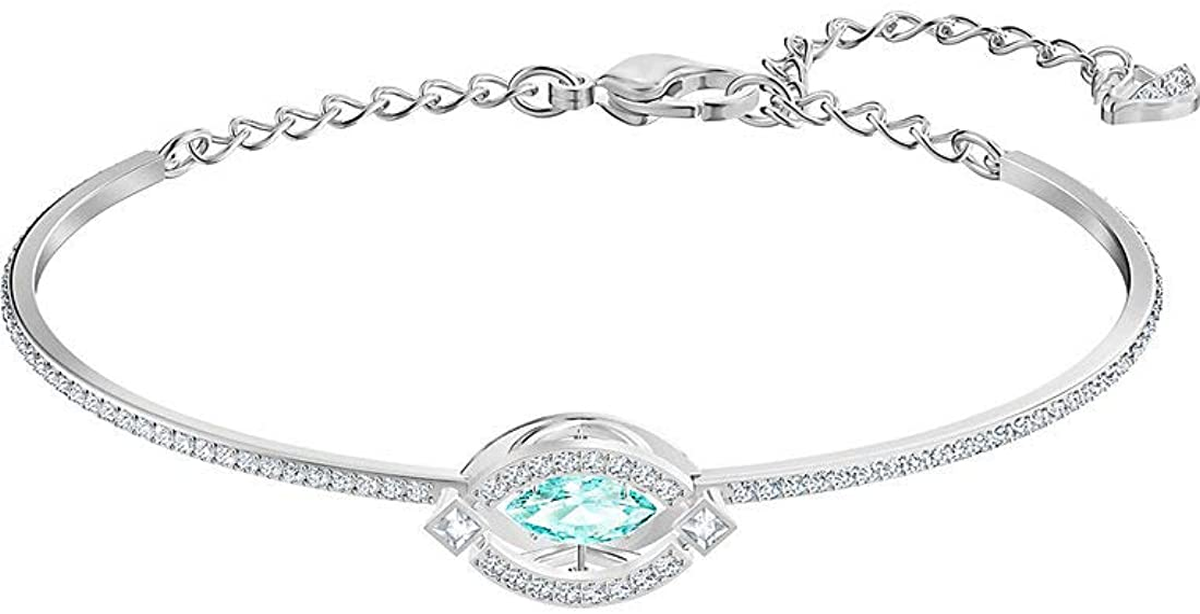 SWAROVSKI Bracelet Sparkling Dance 5485722 Woman Bath Rhodium