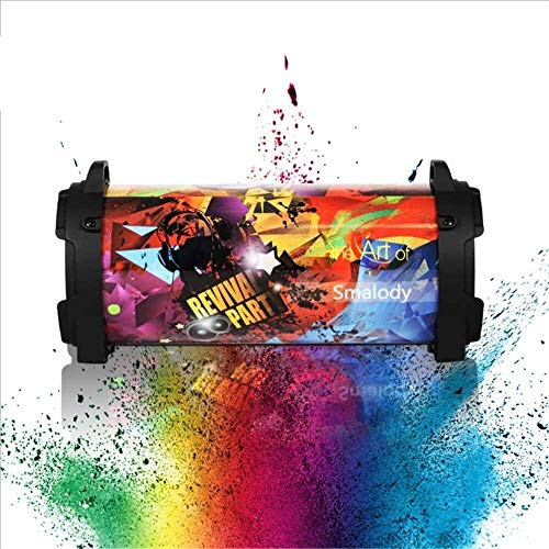 Portable speaker Bluetooth Audio Support Speaker Stereo Speaker High Power Speaker Outdoor Sports Creative Collection Audio Colorful Edition