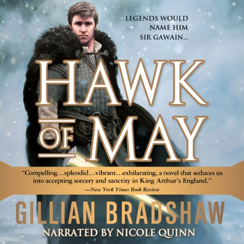 Hawk of May audiobook cover art
