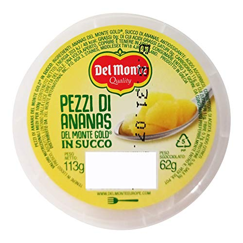 Del Monte Fruit express gusto Ananas gold in succo - 12 pezzi