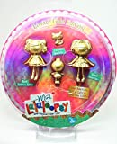 Lalaloopsy, Mini Lalaloopsy Exclusive Limited Gold Edition Set Spot Splatter Splash, Trinket, Sparkles, and Jewel Sparkles