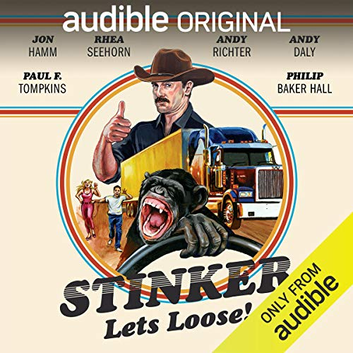 Stinker Lets Loose!                   By:                                                                                                                                 Mike Sacks,                                                                                        James Taylor Johnston                               Narrated by:                                                                                                                                 Jon Hamm,                                                                                        Eric Martin,                                                                                        Andy Richter,                   and others                 Length: 5 hrs and 53 mins     10 ratings     Overall 3.8