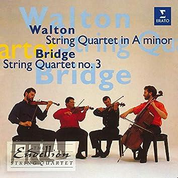Bridge & Walton: String Quartets