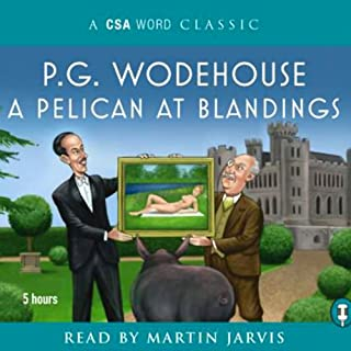 A Pelican at Blandings cover art