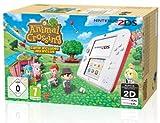 Console Nintendo 2Ds - Blanc & Rouge + Animal Crossing : New Leaf [Importación Francesa]