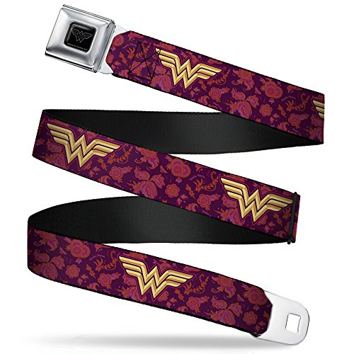 Buckle-Down Seatbelt Belt Wonder Woman XL