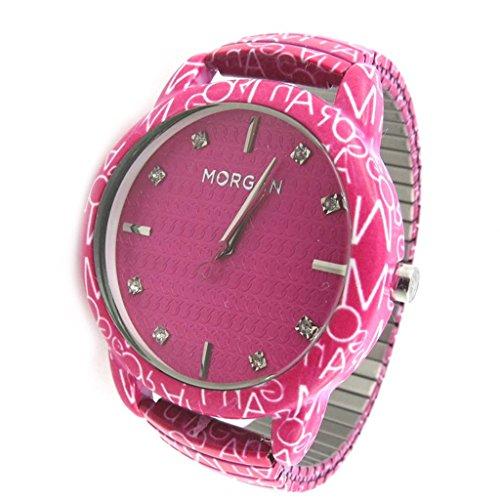 Morgan [N2417] - Armbanduhr 'French Touch' 'Morgan' rosa (Graffiti).